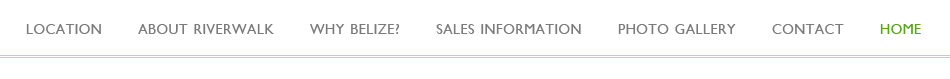 Riverwalk Belize Site Navigation